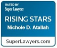 Rated by Super Lawyers Rising Stars Nicole D. Atallah SuperLawyers.com